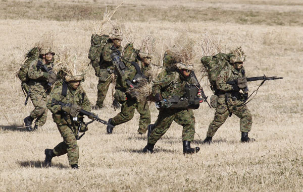 Japan starts military exercise