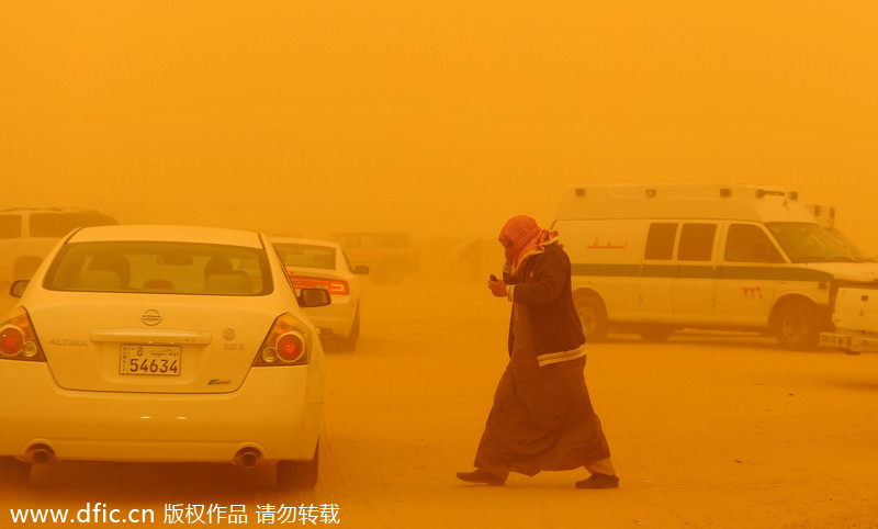 ... North of Kuwait City on Saturday, March 17, 2012. [Photo/icpress.cn