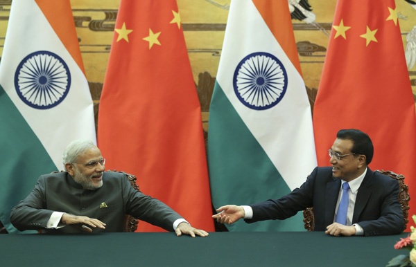 Premier Li says talks with Modi 'meet expectations'