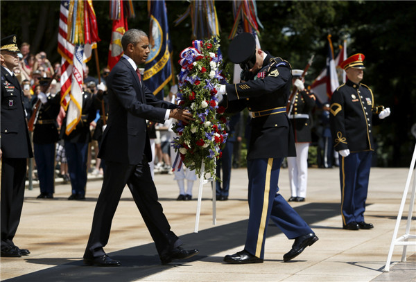 US honors war dead on Memorial Day