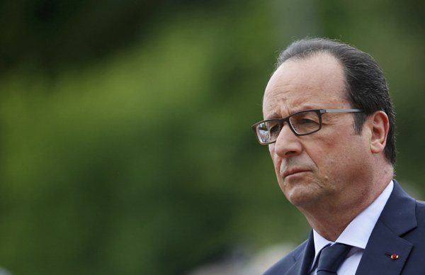 NSA eavesdropped on last three French presidents
