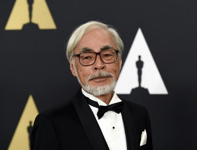 Japan cinema legend Miyazaki joins protests against move to widen military role