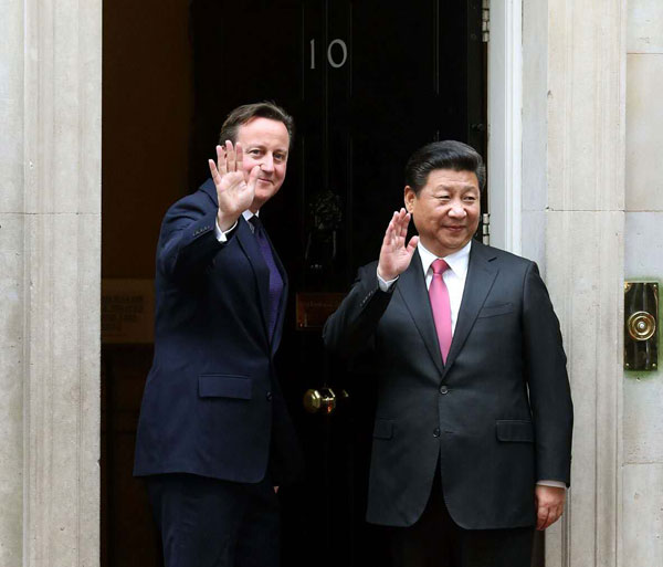 UK pledges to back China to talk FTA with EU