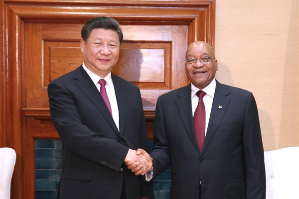 Xi in South Africa to strengthen bilateral ties, boost China-Africa cooperation