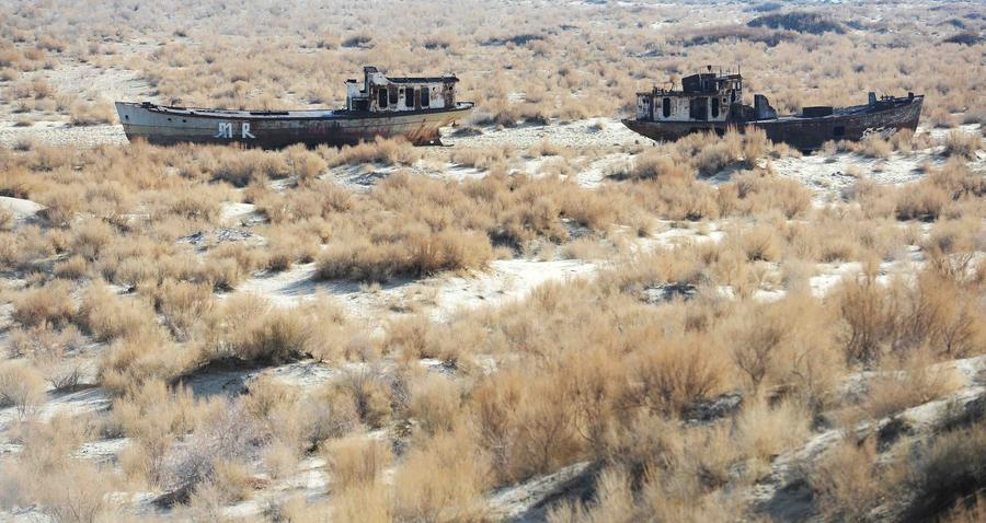 World's 4th largest lake Aral Sea shrinking