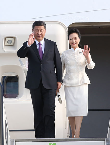 President Xi arrives in Berlin for state visit to Germany