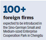 German ties to Chengdu provide inspiration, opportunities