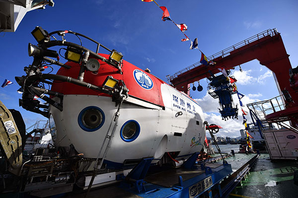 Newest, advanced submersible is a deep-sea warrior