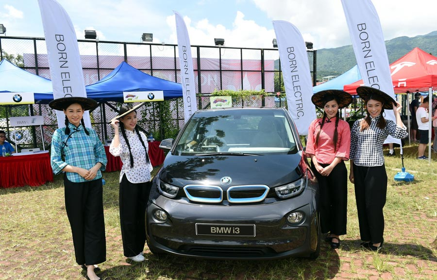Electric Vehicles Charge Up Carnival In Hk 1 Photos