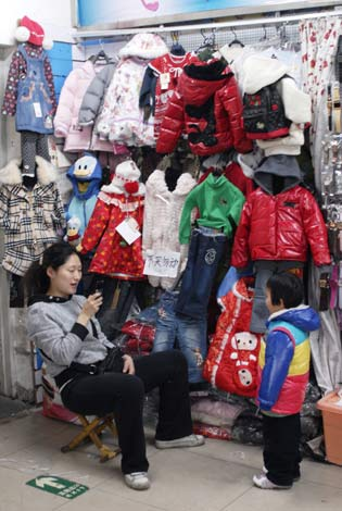 Baby boom boosts kids' clothes