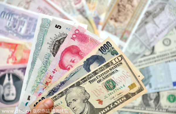 maintain renminbi\'s exchange stability to a basket of currencies