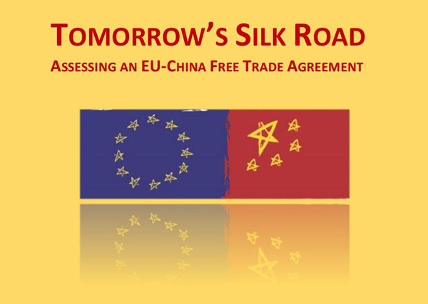 Think Tank Study Supports China Eu Free Trade Talkseconomy