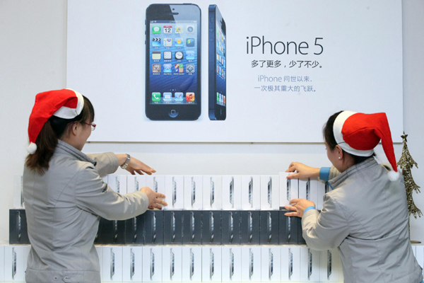 Snow brings a cool reception for the iPhone 5