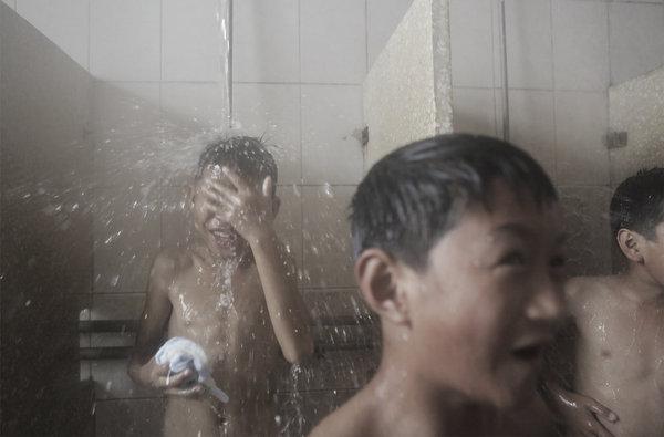 Amusing phrase Naked hot men in shower sorry, that
