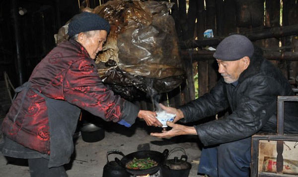 China's oldest couple at 106 and 109