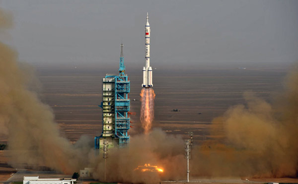 China Launches Spaceship With First Female Astronaut