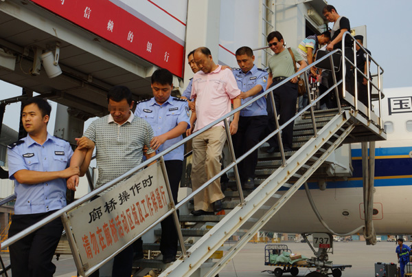 180 economic fugitives back in China to face trial