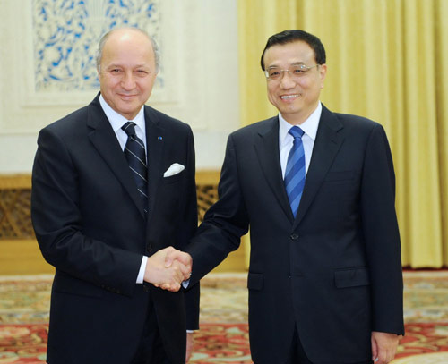 China seeks closer co-op with France
