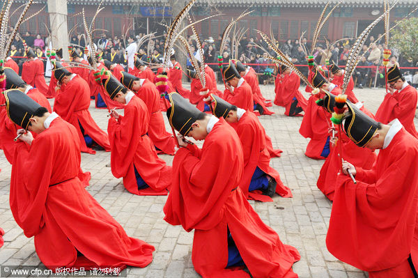 Anceint chinese religions