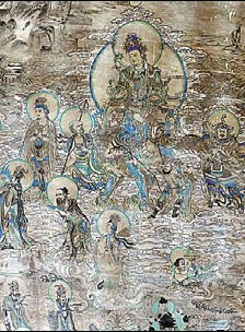 Mogao Grottoes murals prepped for digital display
