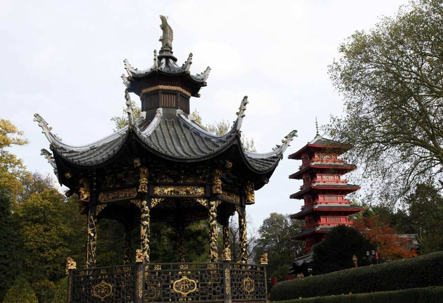 Time to repair asian architecture in brussels 1 heritage for Architecture orientale