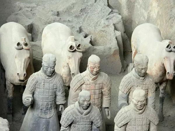 New discoveries unearthed at Terracotta Warriors site