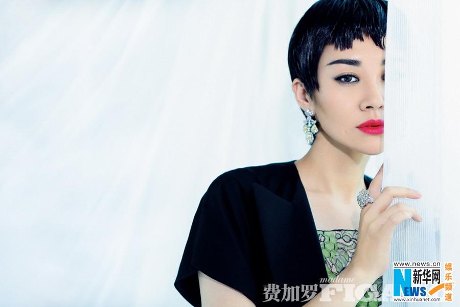 Xu Qing  nackt