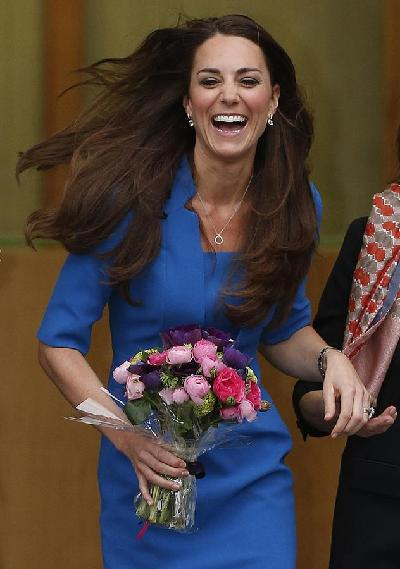 Duchess of Cambridge opens Art Room