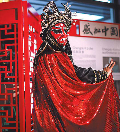 Face Changing Performance In Sichuan Opera In Berlin Xinhua
