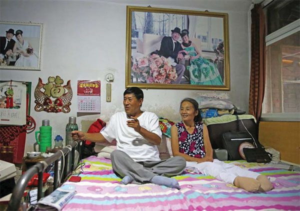 Although Left Paralyzed Yang Yufang And His Wife Gao
