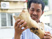 A Stone Collector In Shiyan City Hubei Province Has