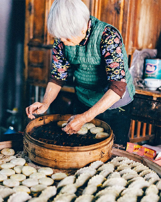 Qingtuan Or Green Dumplings Are Made Of Glutinous Rice