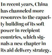 China's aid approach gains momentum