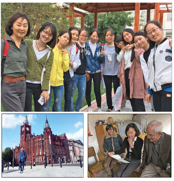 Imperial College London S Reach Out Lab And Reaching: Above Left Ma Feng Born In A Poor Village In Gansu