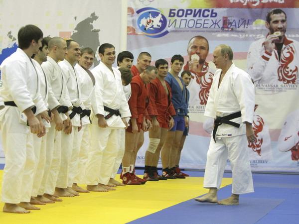 Putin Shows Off Judo Combats