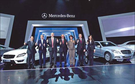New models demonstrate MercedesBenz mottoChinaEuropechinadaily