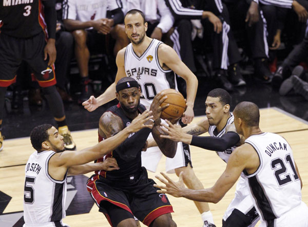 Big 3 Help Heat Even Nba Finals With Spurs 1 Chinadaily Com Cn