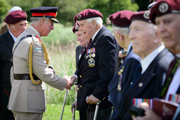 Vets honor D-Day in Normandy