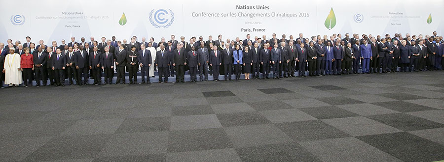 World leaders gather for the World Climate Change Conference